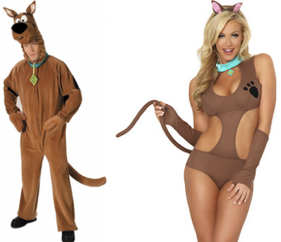 scooby doo costume for men and women source the ever brilliant fuck no sexist halloween costumes - Skimpy Halloween Outfits